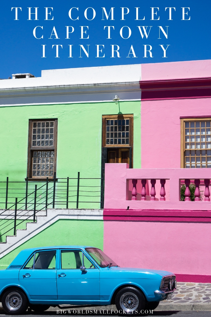 The Complete Cape Town Itinerary {Big World Small Pockets}