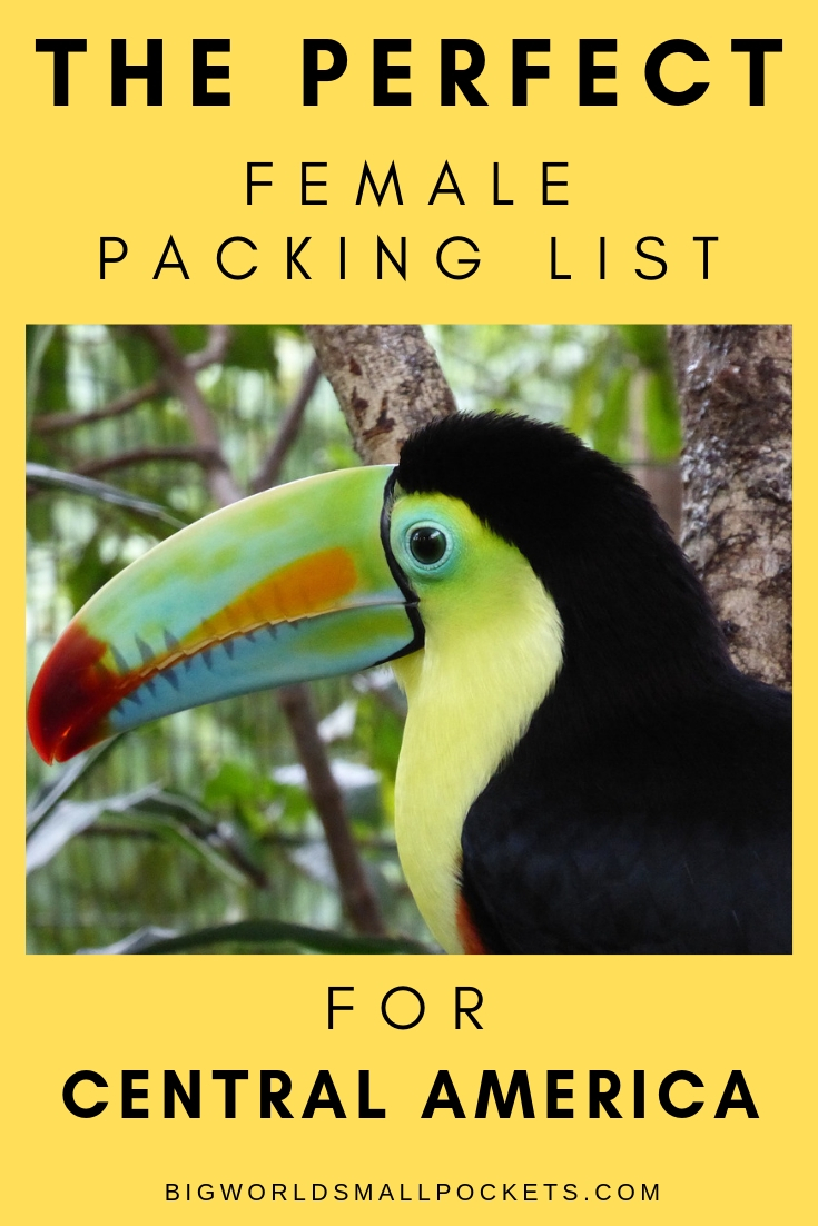 The Ultimate Female Packing List for Central America {Big World Small Pockets}