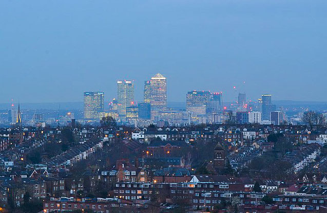 UK, London, Ally Pally View