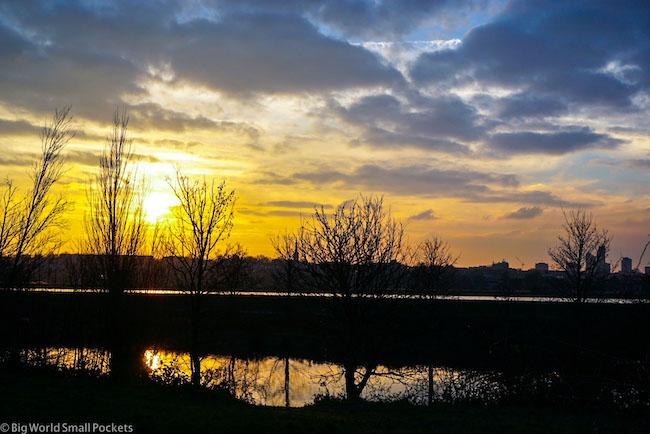 UK, London, Walthamstow Wetlands