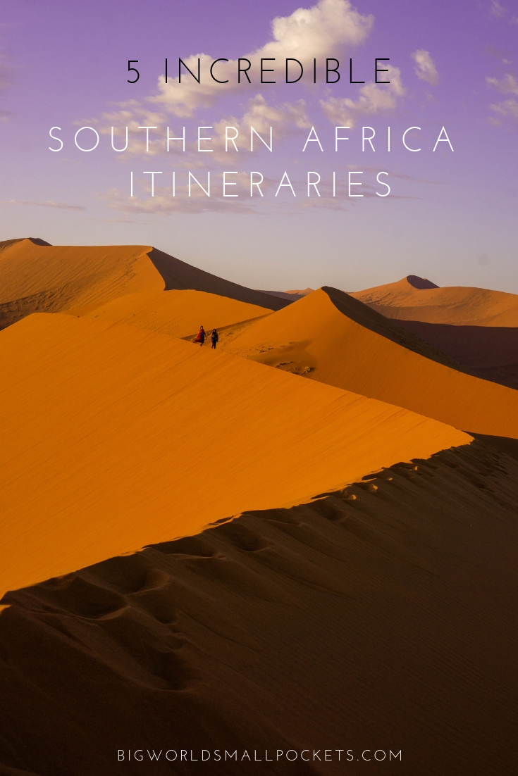 5 Incredible Southern Africa Itineraries To Help You Plan Your Perfect Trip {Big World Small Pockets}