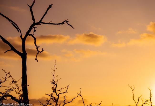 Africa, Swaziland, Sunset