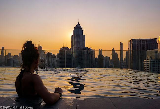 Bangkok, Ibis Styles Sukhumvit 4, Me at Sunset