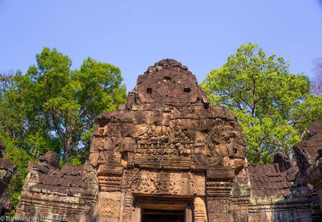 Cambodia, Angkor, Blue Sky Temple