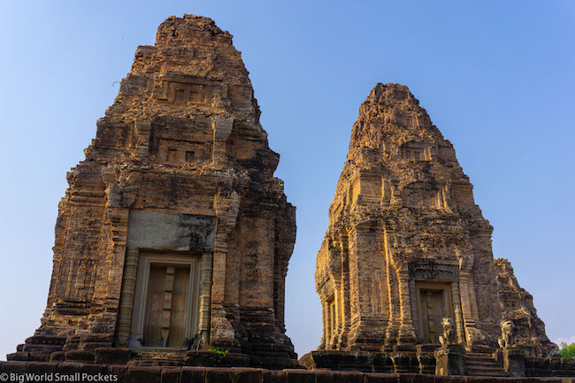 Cambodia, Angkor, Temple 2 Spires