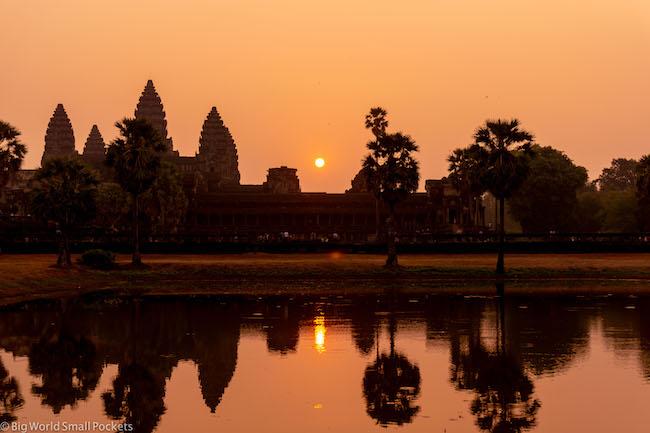 Cambodia, Angkor Wat Sunrise 14