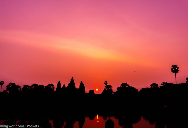 Cambodia, Angkor Wat Sunrise 2