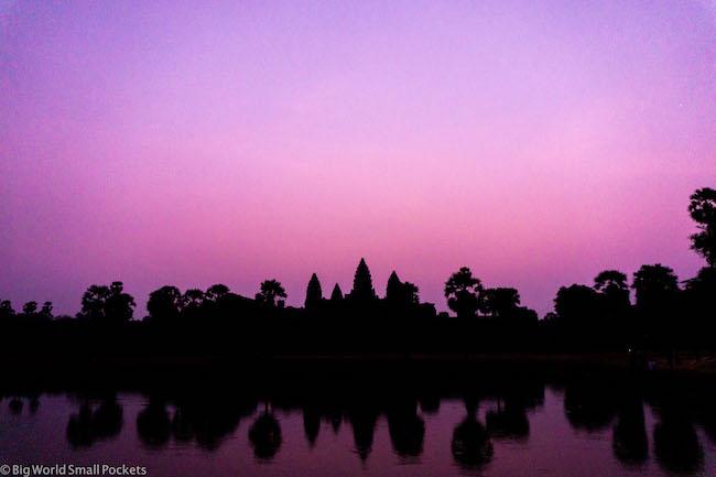 Cambodia, Angkor Wat Sunrise 4