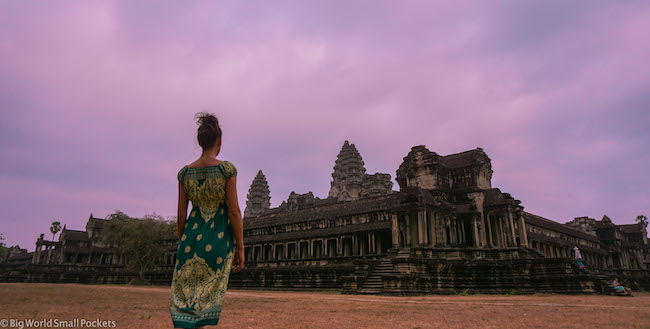 Cambodia, Angkor Wat Sunrise Me