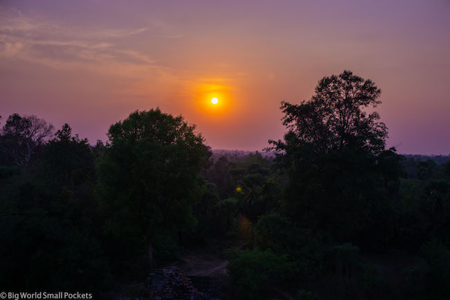 Cambodia, Angkor Wat, Sunset 2