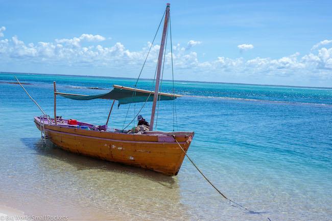 Mozambique, Bazaruto Archipelago, Boat
