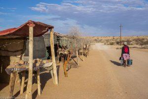 Namibia, Spitzkoppe, Stall