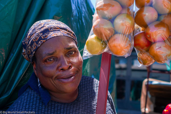 South Africa, Market, Lady