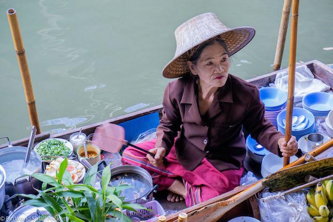 Thailand, Bangkok, Floating Market