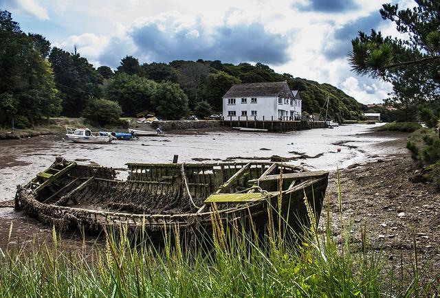 UK, Cornwall, Cottage