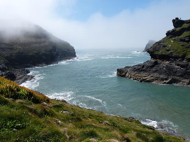 UK, Cornwall, River
