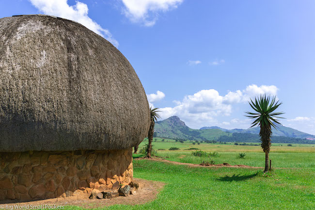 eSwatini, National Park, Traditional Hut