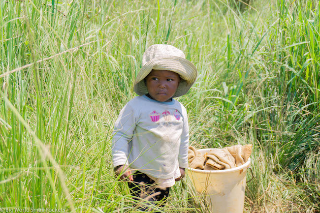 eSwatini, Village, Girl