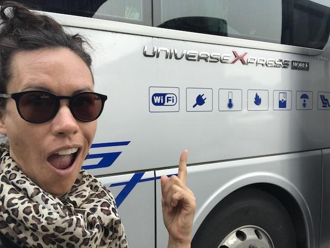 Bangkok to Siem Reap, Giant Ibis, Bus