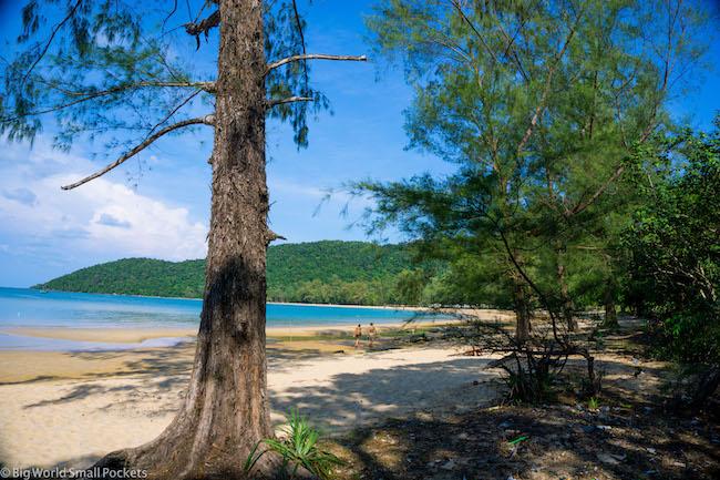Cambodia, Koh Rong Sanloem, Beach