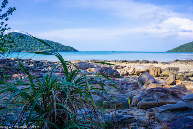 Cambodia, Koh Rong Sanloem, Island Outlook