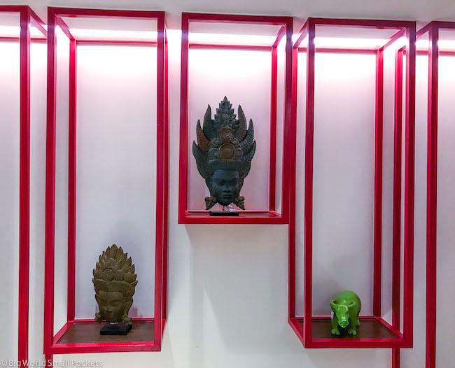 Cambodia, Siem Reap, Ibis Styles Decor