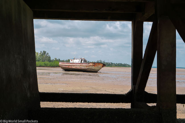 Mozambique, Inhambane, Boat