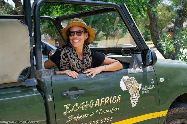 South Africa, Kruger National Park, Me