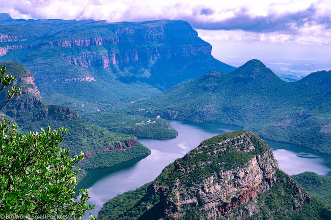 South Africa, Panorama Route, Three Rondavels