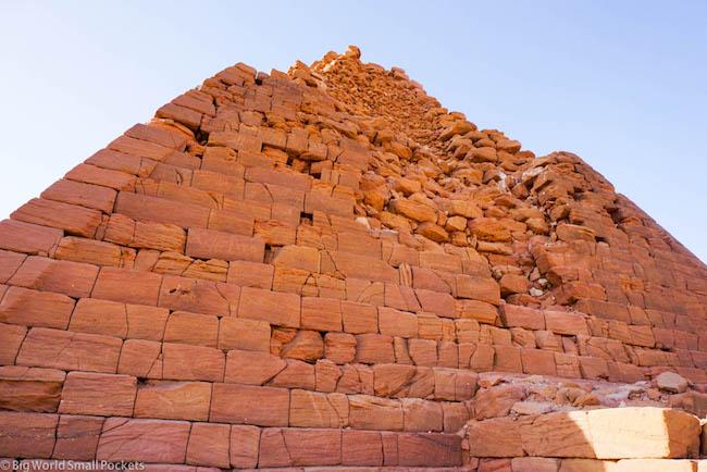 Sudan, Karima, Pyramid Ruins