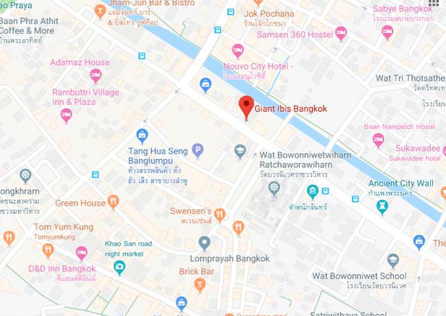 Thailand, Bangkok, Giant Ibis Office