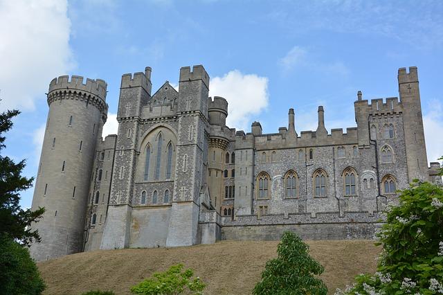 UK, Dover, Castle