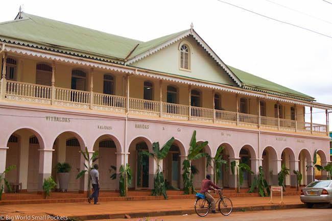 Uganda, Jinja, Town Building