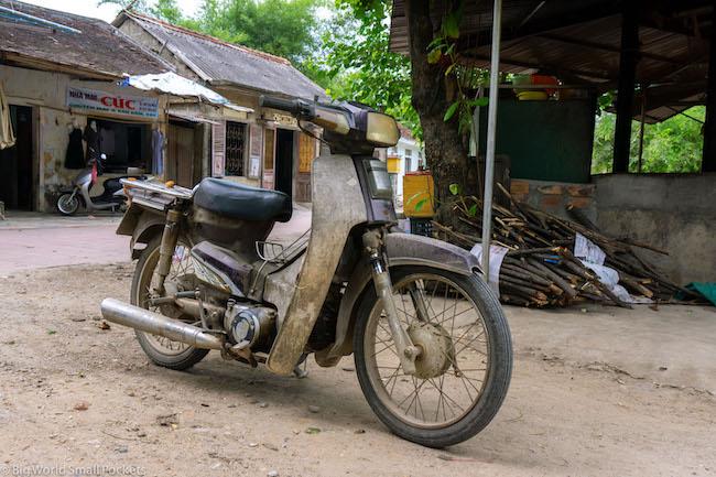 Vietnam, Ha Giang, Motorbike
