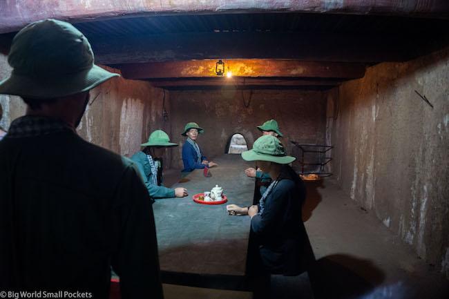 Vietnam, Ho Chi Minh, Cu Chi Tunnels