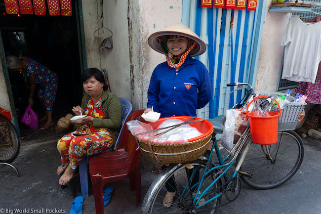 Vietnam, Ho Chi Minh, Street Food