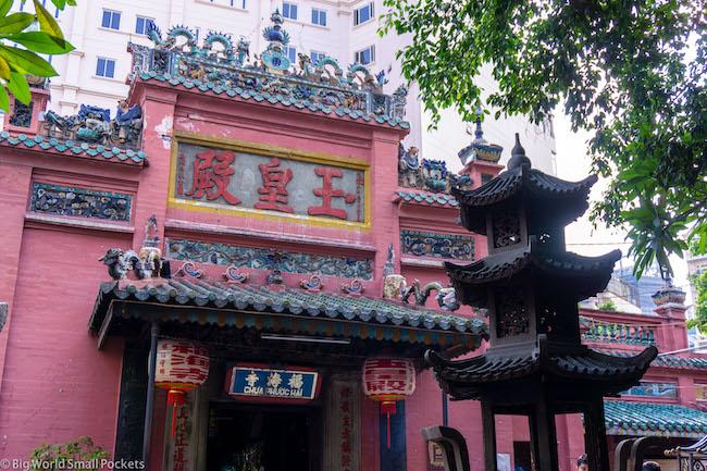 Vietnam, Ho Chi Minh, Taosit Temple