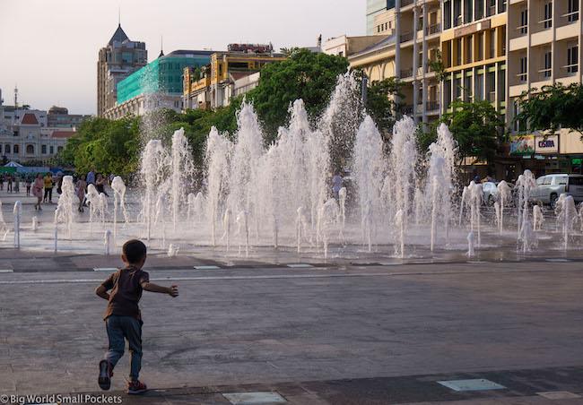 Vietnam, Ho Chi Minh, Walking Street