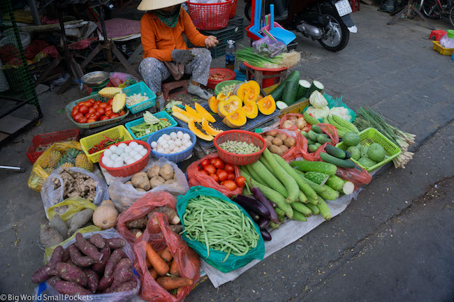 Vietnam, Market, Food