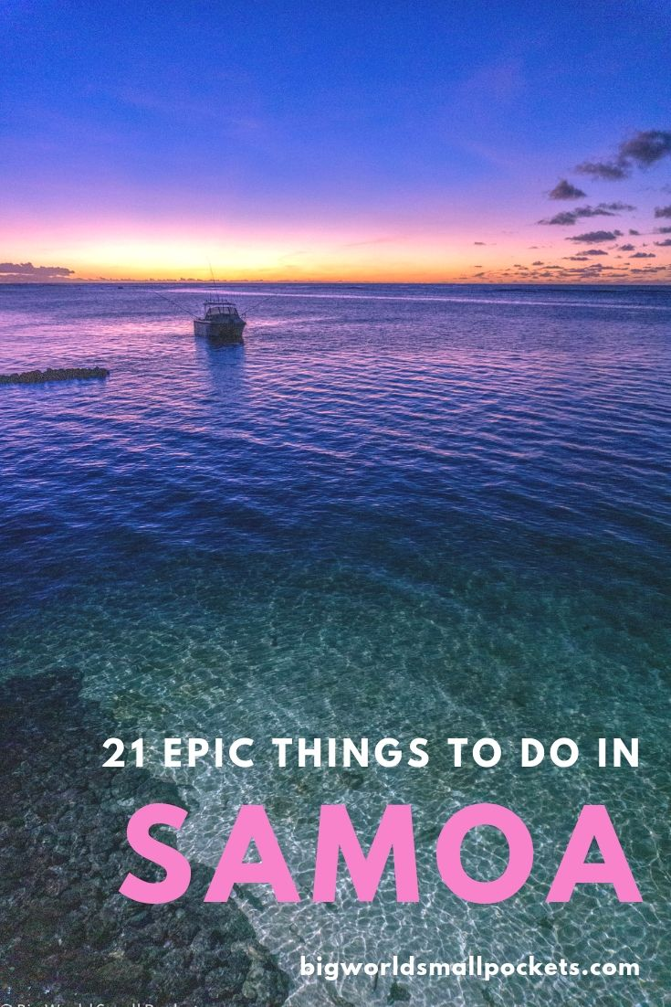 21 Epic Things to Do in Samoa {Big World Small Pockets}