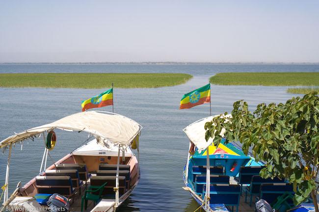 Ethiopia, Awasa, Boats