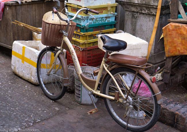 Laos, Luang Prabang, Bicycle
