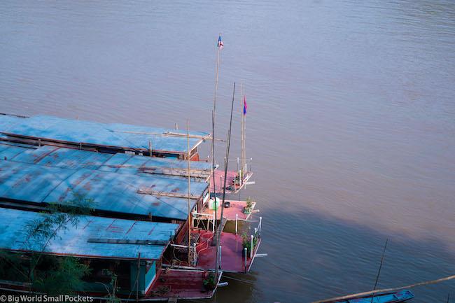 Laos, Luang Prabang, Boat