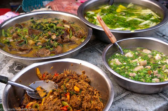Laos, Luang Prabang, Food