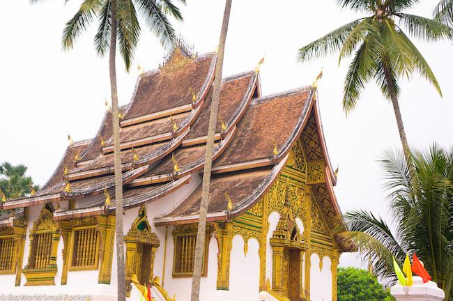 Laos, Luang Prabang, Temple