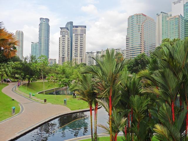 Malaysia, Kuala Lumpur, KLCC Park