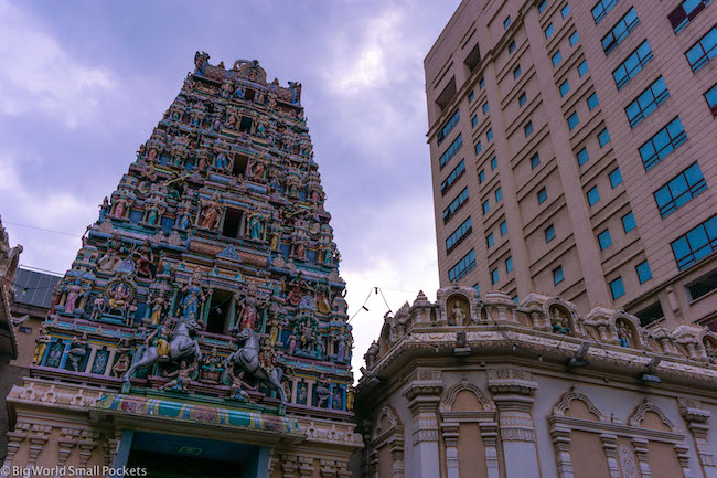 Malaysia, Kuala Lumpur, Sri Mahamariammam Temple