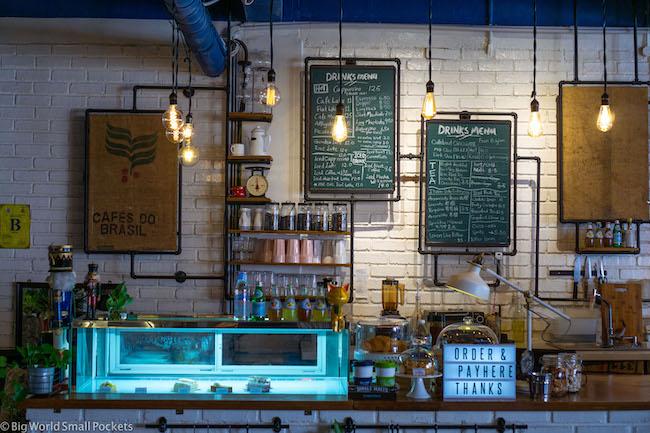 Malaysia, Malacca, BackLane Cafe