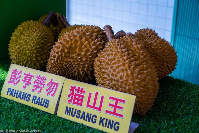 Malaysia, Malacca, Durian