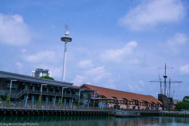 Malaysia, Malacca, Sari Tower